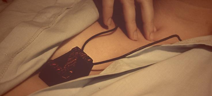 LKBK / 3 — Brzydko  #brzydko #necklace #letterpress #jewelry