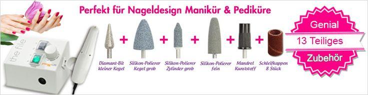 Der Kraftzwerg für zu Hause + 13 teiliges Zubehör + Professionelle Pflege für Zuhause. http://www.german-dream-nails.com/products/Fraeser-und-Aufsaetze/Nagelfraeser/Promed-520-Profi-Set.html  #fräser #nagel #naildesign #modellage