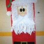 Classroom Santa Door Decoration