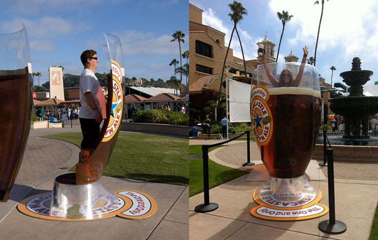 3 Unbelievably Creative Advertising Campaigns for Newcastle Brown Ale Guerrilla Marketing Photo