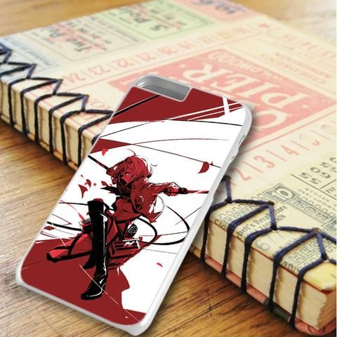 Attack On Titan Anime Cartoon iPhone 6 Plus|iPhone 6S Plus Case