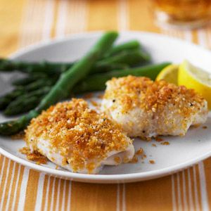 Lemon and Parmesan Fish for just 7 grams of carb a serving.