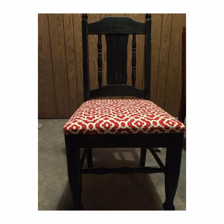 My after picture!! Absolutely love black distressed furniture! So so so so so easy! Spray paint, and fabric from WALMART!