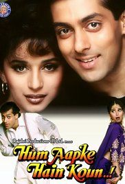 Hum Aapke Hain Koun Full Movie Online Watch. Prem, a top student, is learning the ropes of business under his elder brother Rajesh and his uncle Kailashnath, a big industrialist. In another town, Nisha is studying computer science and...