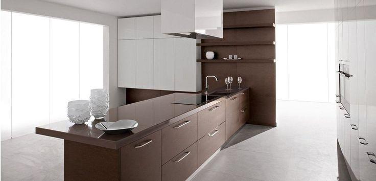 17 migliori idee su cucine cucina bianca su pinterest - Cucina bianca legno ...