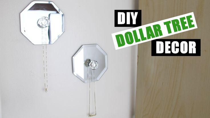Dollar Store DIY Room Decor   Dollar Tree DIY Jewelry Holder   Dollar Store DIY Jewelry Display - YouTube