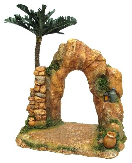 another idea for the nativity village in polymer clay