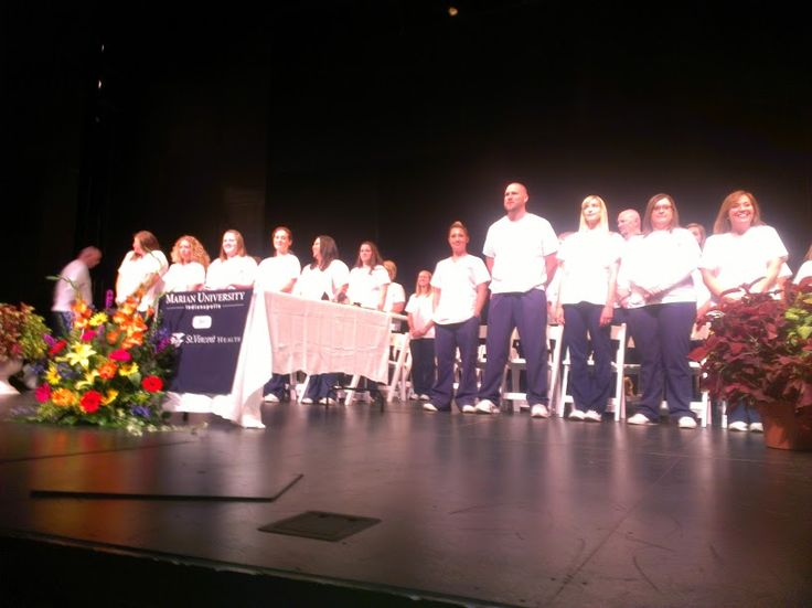Congratulations to the Marian Accelerated Nursing Class of August 2013!