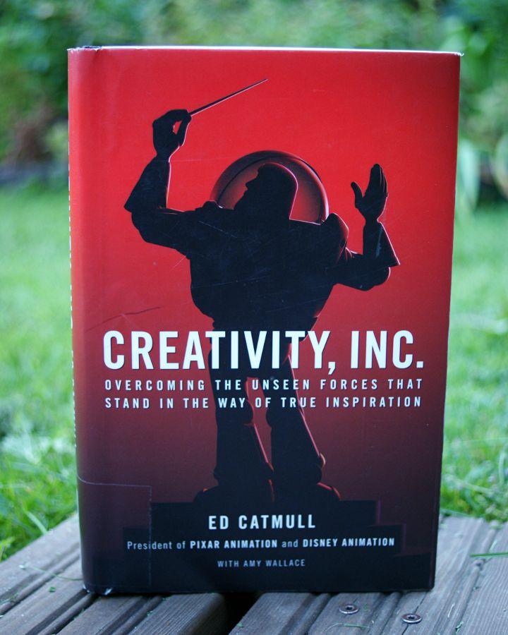 Creativity, Inc. -kirja - Disnerd dreams