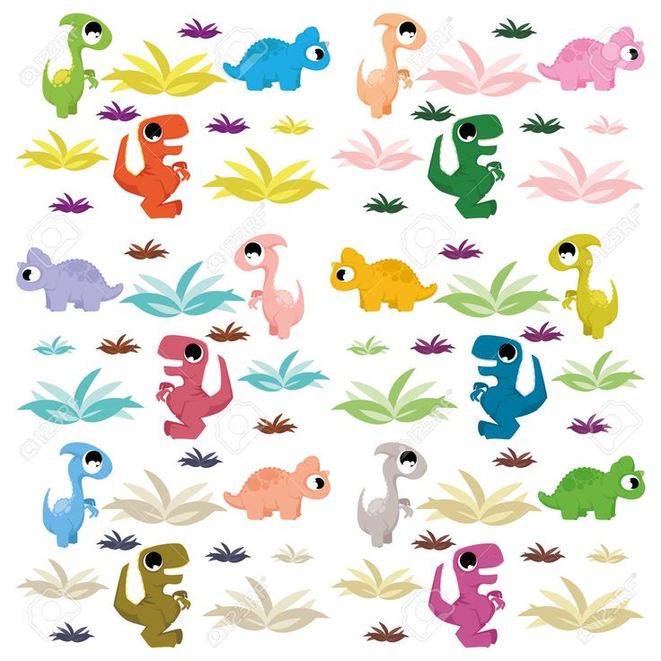 cute dinosaur illustrations - Google Search