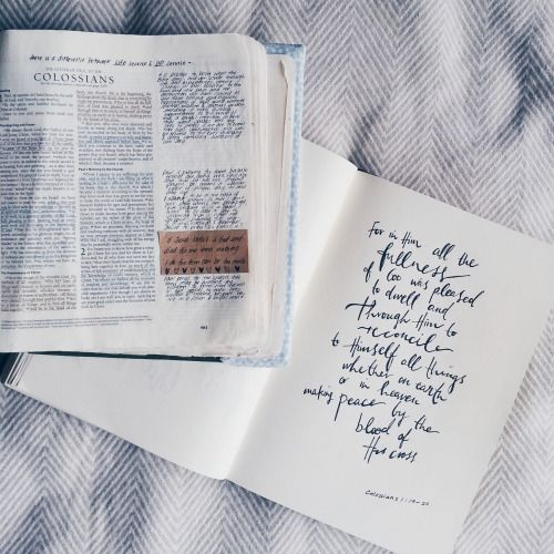 Where can I get scriptures like these, where I can write notes on the page? I love this!