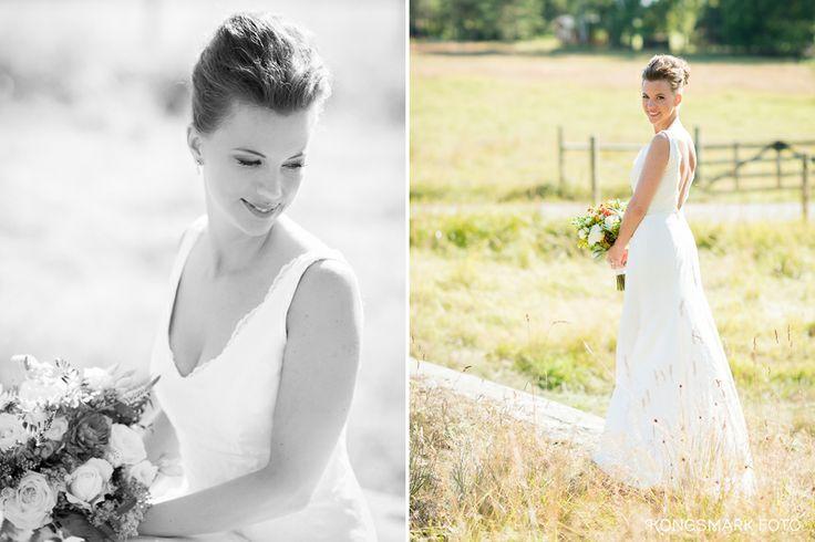 @ Annette Kongsmark - wedding photographer Brides portrait Ann