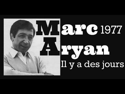 Marc Aryan   Il y a des jours1977