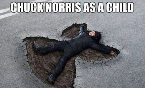 Chuck Norris as a child