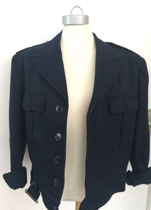 À vendre sur #vintedfrance ! http://www.vinted.fr/mode-femmes/bombers/23771056-veste-bleu-marine-officier-vintage