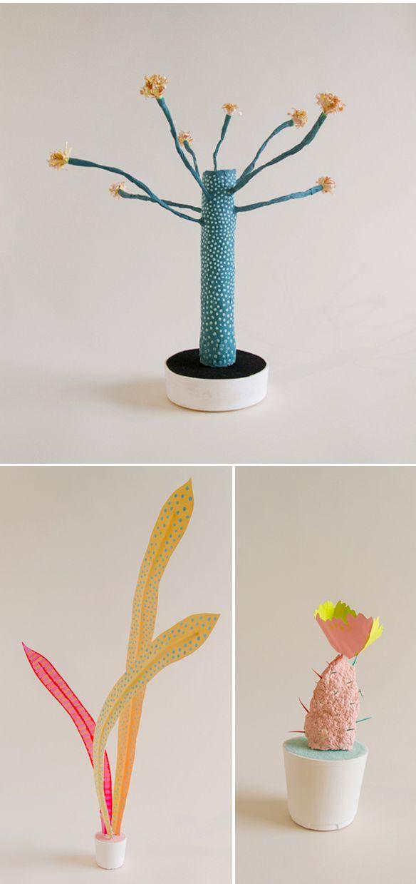 adam frezza & terri chiao - paper plants