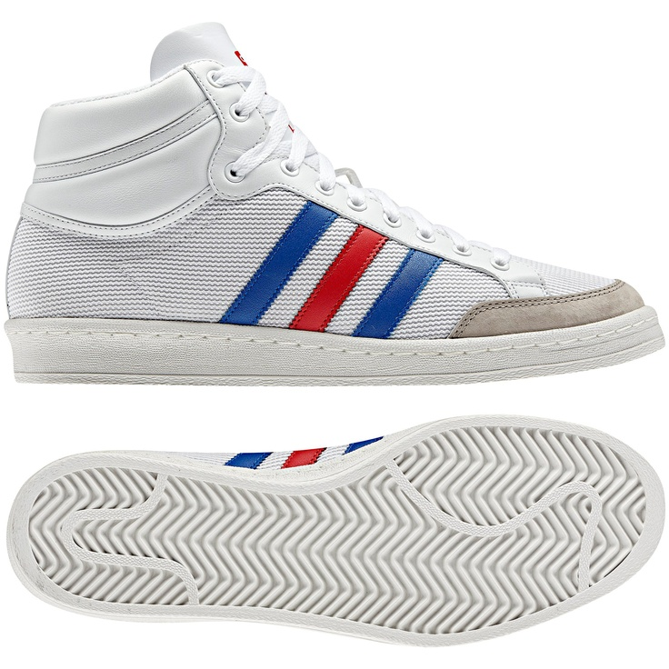 Hommes Chaussures Americana Hi 88, running white / vivid red / true blue