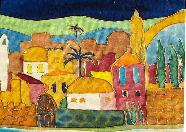 Jerusalem Judaica art