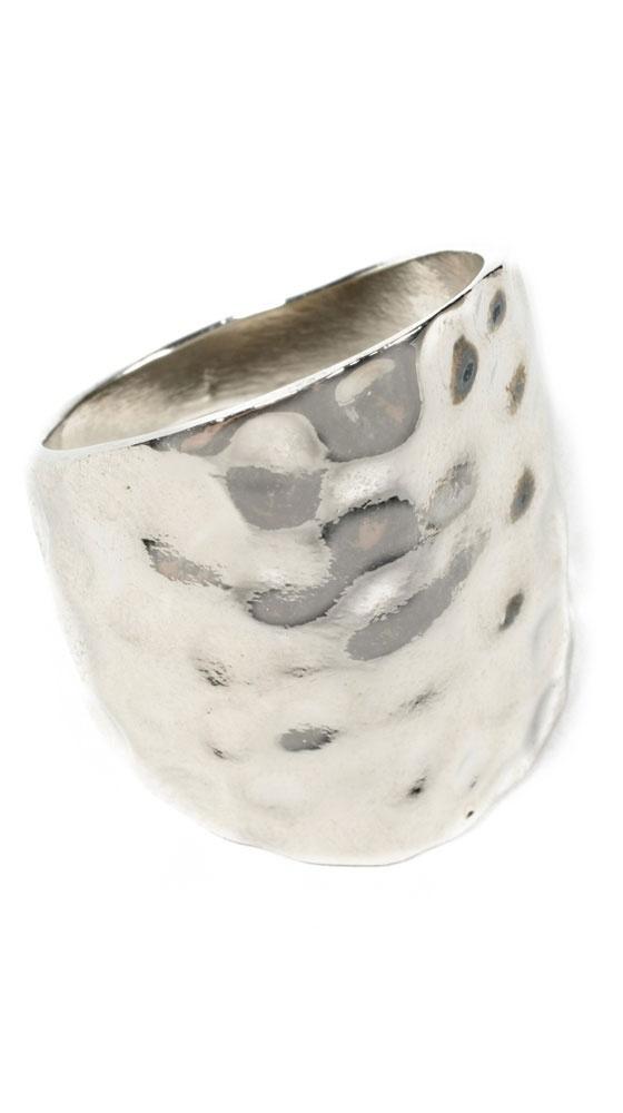 Polka Ring by Amrita Singh: Cool Rings, Accessories 3, Hammered Silver, Polka Rings, Silver Polka, Amrita Singh, Jewelry, Silver Rings, Hammered Rings