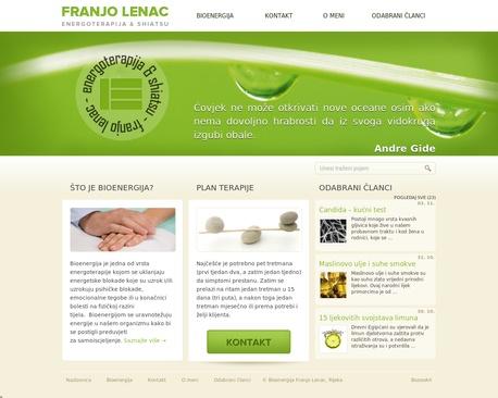 http://www.energoterapija.net | Energoterapija | Bioenergija Franjo Lenac Rijeka - Stranica koja promiče alternativne načine iscjeljivanja (bioenergija i energoterapija) te svakodnevno donosi najnovije vijesti vezane uz tu tematiku