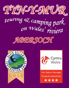 Family touring caravan site and camping park in Abersoch, North Wales