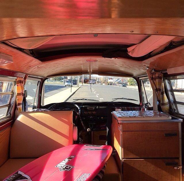 VW Surfbus interior