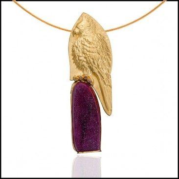 Linda Kiindler Priest - Parrot Necklace