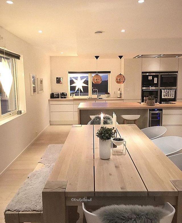 WEBSTA @ interior123 - Kitchen inspo by @frufjellstad ✨