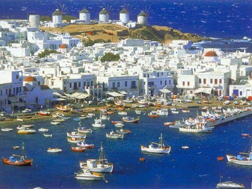 Mykonos is second to last and my most anticipated destination!