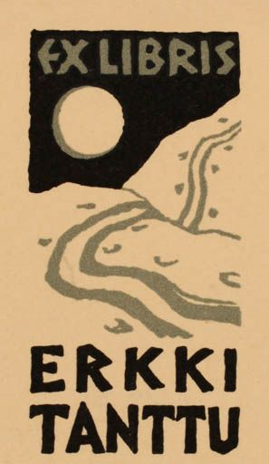 Exlibris for Erkki Tanttu