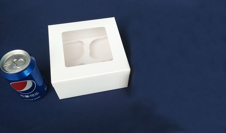 Find More Candy Boxes Information about 300pcs 16*16*7.5cm 4 grid Packaging White cardboard Paper Muffin window Box For Candy\Cake\Dessert \party Packing boxes,High Quality paper box wholesale,China paper box favor Suppliers, Cheap box manufacture from Fashion MY life on Aliexpress.com