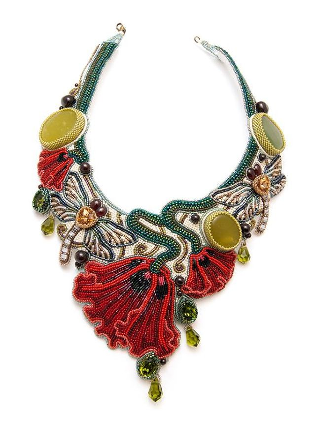 Tatiana Konstantinova (finist) is very talented bead artist from Ukraina. She makes beautiful stylish jewelry