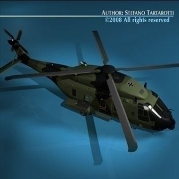 NH90 German army 3D Model-   Model of the NH-90 Transport and SAR Helicopter with German Army camo.Only cinema4d R10 has materials and textures.Other formats zip files have enclosed some texture. But it could need some texture reassigning.Doors can not be opened.Polygons 12702Vertices 13493The NHI NH90 is a medium sized, twin-engine, multi-role military, fly-by-wire helicopter manufactured by 3 european industries. The NH90, which can be flown by a single pilot, is designed to operate by…