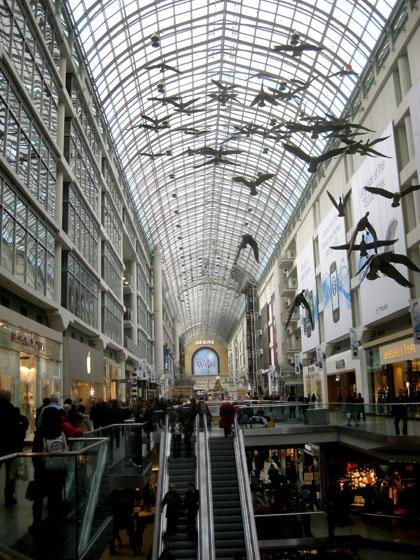 The Toronto Eaton Center