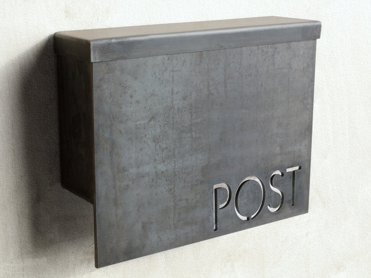 More from Austin Outdoor....love this!!! Standard Modern Mailbox. $245.00, via Etsy.