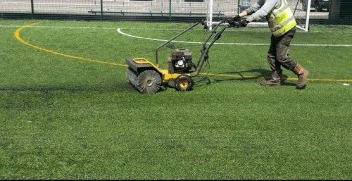 Synthetic Football Pitch Maintenance in Derry #Synthetic...