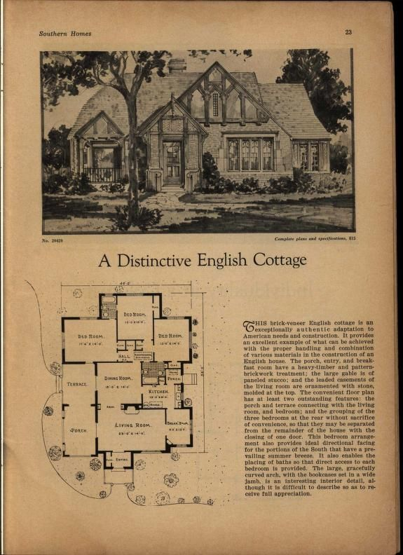 Best 25 vintage house plans ideas on pinterest bungalow for Holland house design