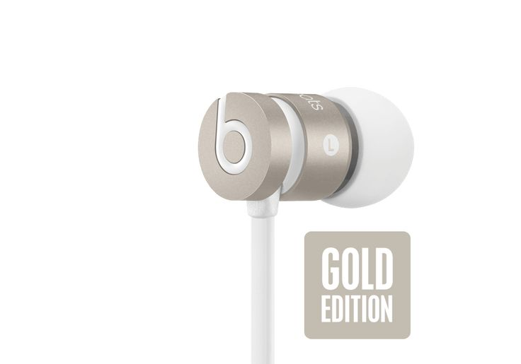 Beats by Dr. Dre, urbeats, GOLD