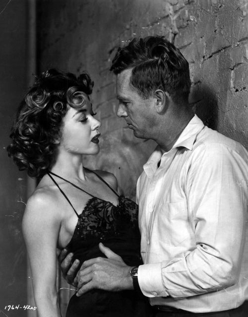 Gloria Grahame and Sterling Hayden in Naked Alibi (1954)