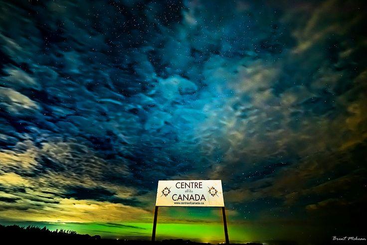 Centre of Canada... Close to Deacons  Corner... Manitoba, Canada