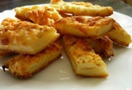 Túrós-sajtos rudak