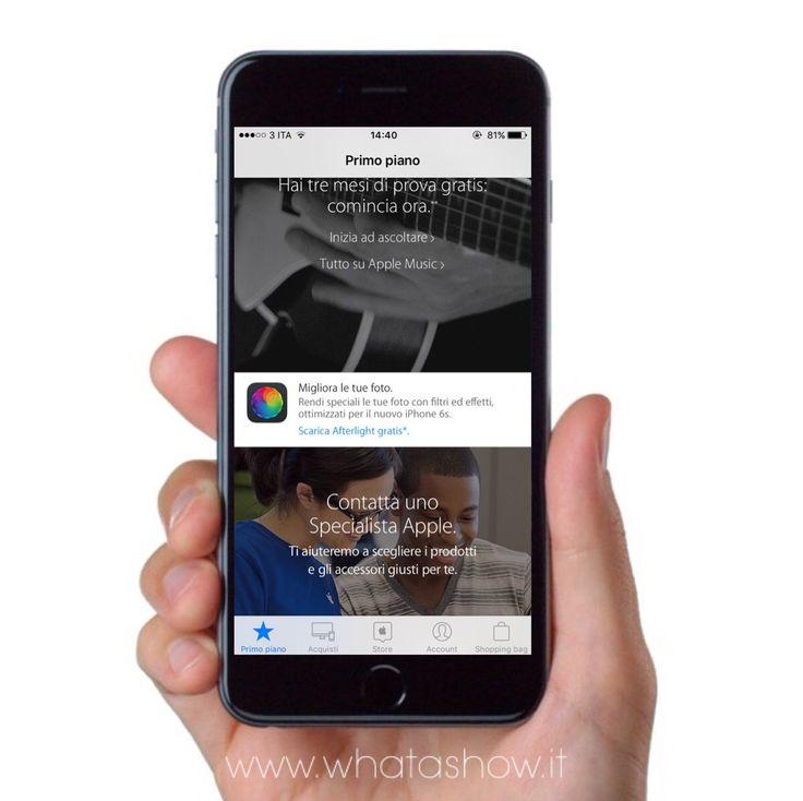 """Apri l'app """"Apple Store"""", vai nella sezione Primo Piano, scorri verso il basso e scarica GRATIS Afterlight, l'app di fotoritocco che Apple ha reso gratuita per pochi giorni!"""