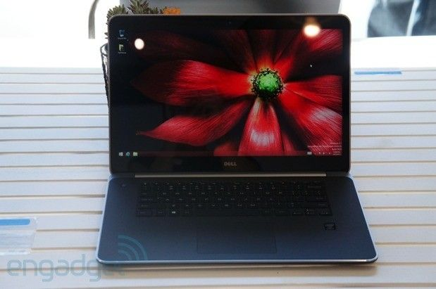 Dell refreshes the XPS 13 and 15 with Haswell, the 15 has a 3,200 x 1,800 display