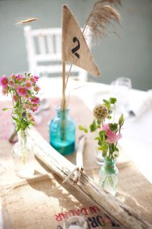 This Maine wedding has SO many cute #Details! On #SMP: http://www.stylemepretty.com/massachusetts-weddings/2013/11/11/peaks-island-maine-destination-wedding-from-lara-kimmerer-photography