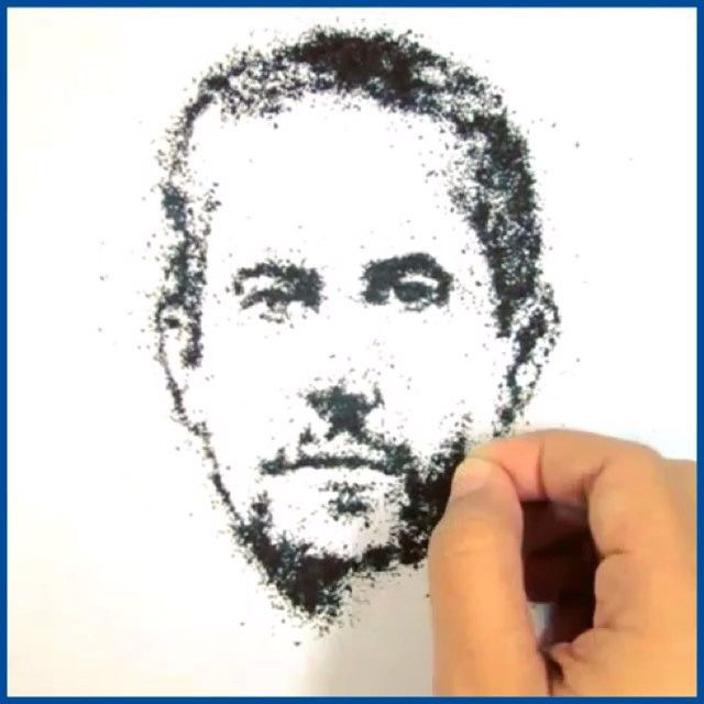 One of my absolute favorites Paul Walker❤️ beautifully done by @mabzb  Like this post to support artist