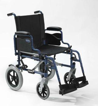 Invacare ACT1 - la #carrozzina #pieghevole con telaio in acciaio con ruote piccole