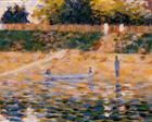 Boats near the Beach at Asnieres - Georges Seurat