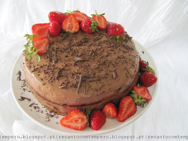 Recanto com Tempero: Chocolate mousse cake