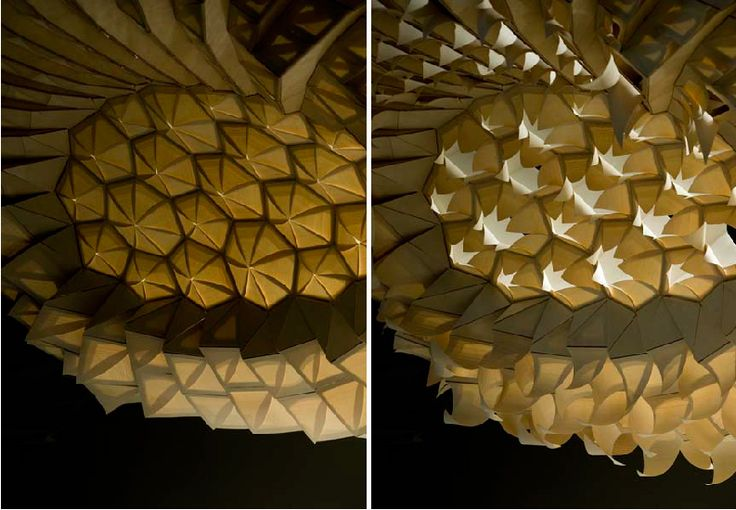 HygroScope explores a novel mode of responsive architecture based on the combination of material inherent behaviour and computational morphogenesis. The dimensional instability of wood in relation to moisture content is employed to construct a climate responsive architectural morphology.
