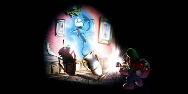Luigi's Haunted Mansion